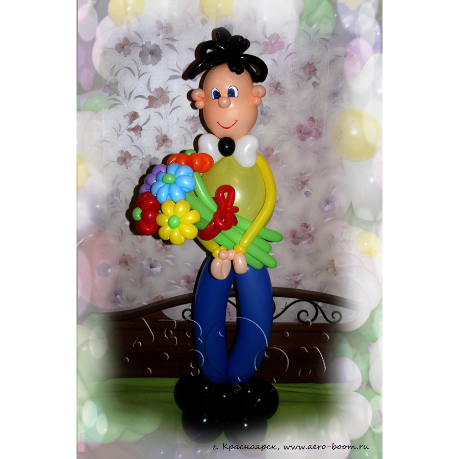 Подарки из шаров для мужчин фото